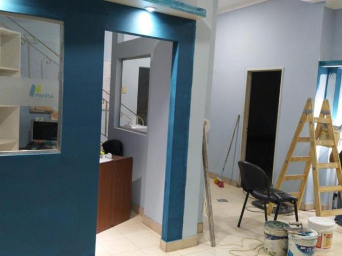 Finalizaron las mejoras en la sede de Prensa de Concepción