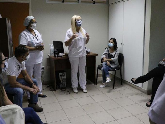 Médicos de Prensa comenzaron su vacunación contra el Covid-19